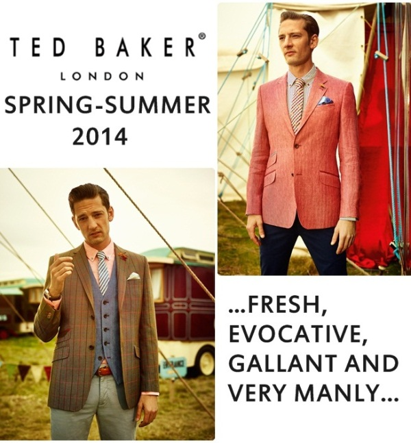 Ted Baker Spring Summer 2014 Menswear MJ AND STUFF