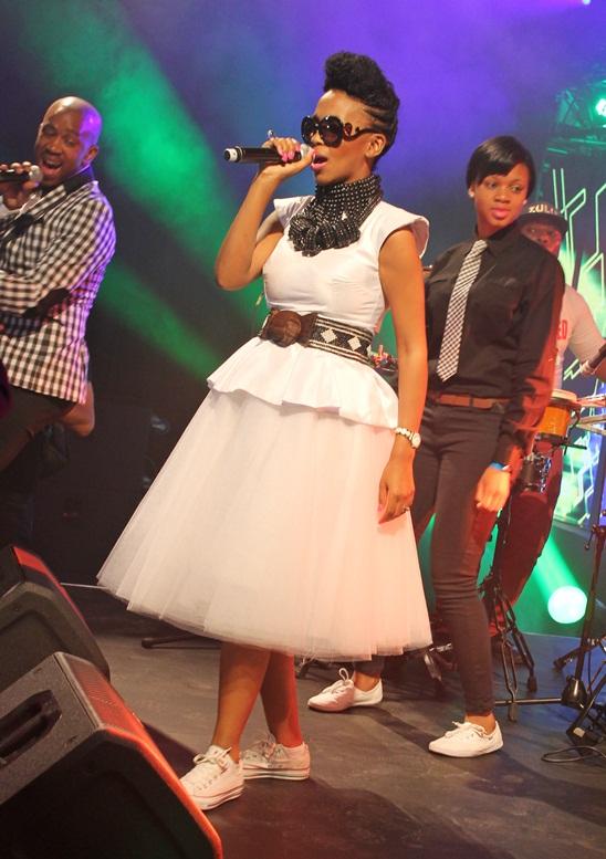 MJ AND STUFF White tutu skirt Nhanhla Nciza